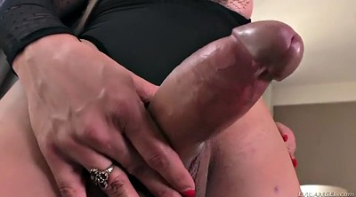 Shemale solo, Big dildo, Brazilian