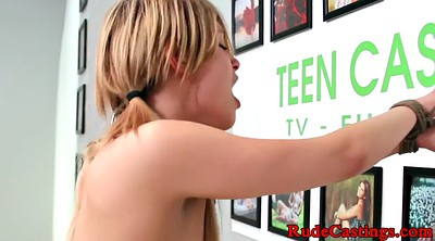 Reality, Teen casting, Real casting, Bdsm casting