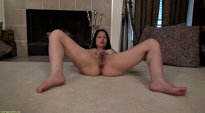 Asian mature, Shaved