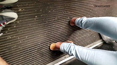 Bus, Candid, Candid foot, Candid feet