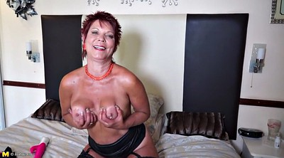 Matures, Mature dildo