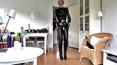 Sissy, Boot, Leather boots