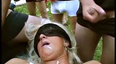 Orgy, Groupsex, Sex party, German outdoor, German bukkake, European