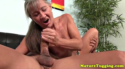 Masturbation, Granny handjob, Big nipple