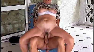 German mature, Mature orgasm, German granny, Granny outdoor