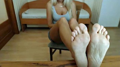 Foot, Sole, Sounding, Milf feet