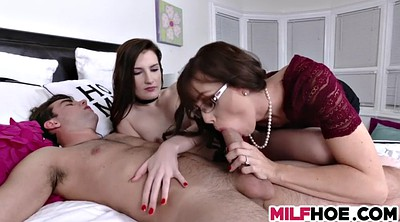 Daughter, Threesome, Mother daughter, Lewd