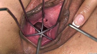 Gyno, Huge dildo, Pussy gaping, Gyno x, Speculum