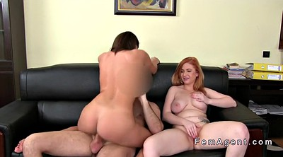 Anal casting, Casting anal, Female agent, Agent, Assistance, Lesbian casting