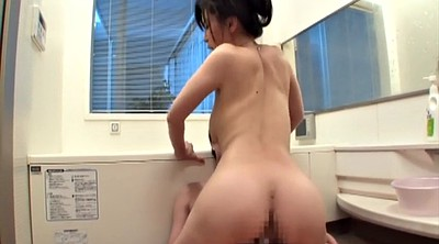 Japanese mom, Mom and son, Asian mom, Japanese son, Bath, Japanese moms