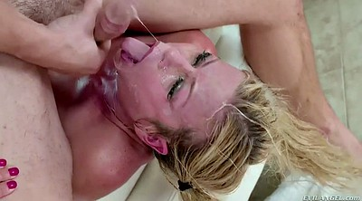 Brutal, Oral, Outrage, Alexis fawx ​​​, Blonde mature