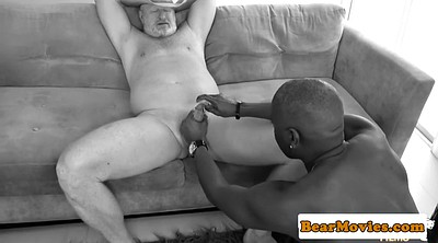 Mature interracial, Chubby mature