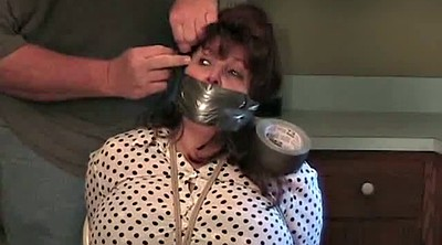 Kitchen, Bound, Blindfolded, Mature bondage