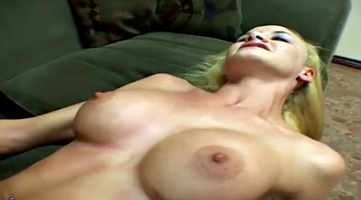 Riding, Busty, Blonde reverse cowgirl
