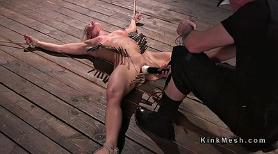 Spank, Hogtied, Tits whipping