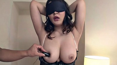 Blindfolded, Japanese big tits, Chubby asian, Chubby japanese, Blindfold