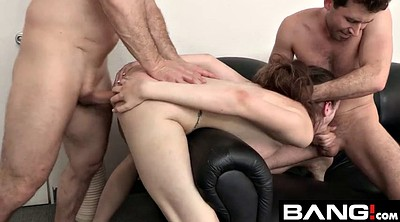 Amateur double penetration, Threesome casting, Anal casting