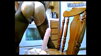 Squirting, Pantyhose dildo, Dildo squirt, Shemale creampie, Fuck squirt