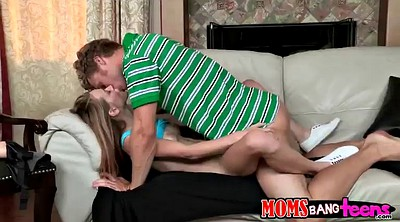 Mom, Daughter, Horny mom, Mom handjob, Mom daughter