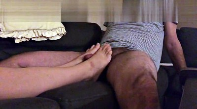 Wife foot, Wife, Cum on feet
