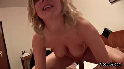 First, Milf casting, First time