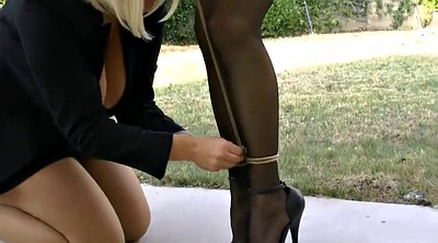 Dress, Ebony bondage