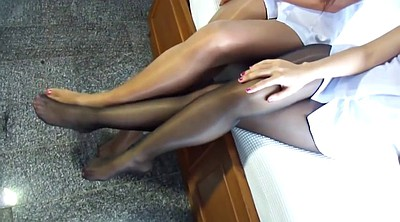 Japanese pantyhose, Japanese foot, Asian pantyhose, Pantyhose foot
