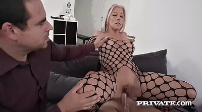 Milf anal, Blonde milf, Husband watch