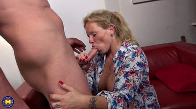 Suck, German mature, Young and old, Granny fuck