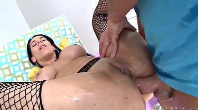Swallow, Swallowed, Gyno, Prolapse, Anal prolapse, Milf big ass