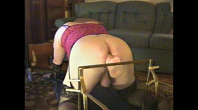 Crossdressers, Plump, Huge toy