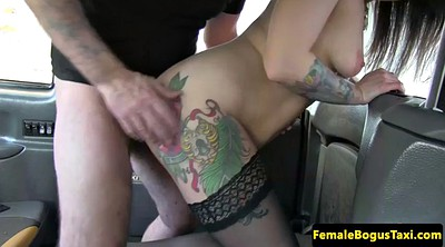 Taxi, Female pov, Female