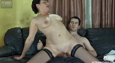 Young creampie, Mature creampie
