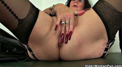 Mature, Granny pussy, Old pussy, Old milf, English milf