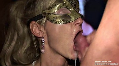 Cum in mouth, Gangbang creampie, Creampies