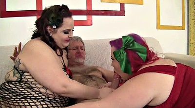 Bbw threesome, Fat girl, Couple threesome