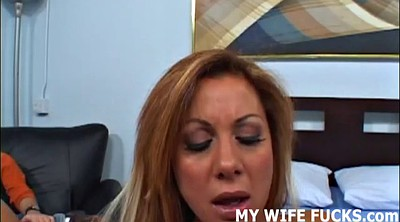 Wife watching, Stranger, Wife watches, Wife stranger