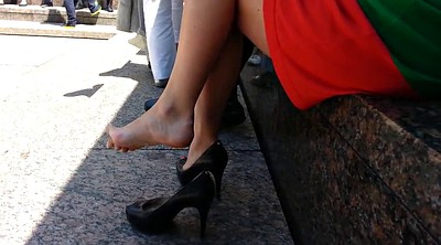 Upskirt, High heels, Shoe