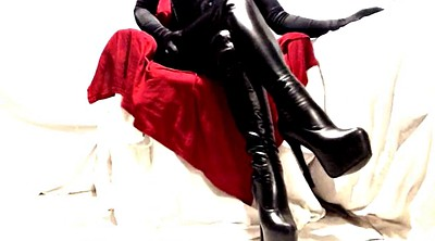 Leather, Boot, Pvc