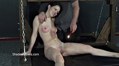 Electro, Crying, Cry, Teen slave, Device bondage, Device