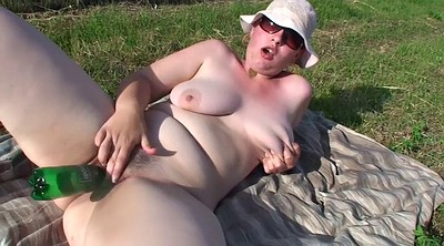 Outdoor, Mature masturbating, Big tits mature bbw