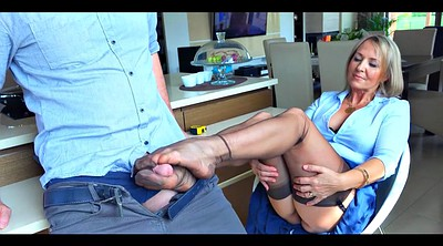 Nylon, Nylon feet, Nylons, Nylon footjob, Wife feet, Nylon stockings