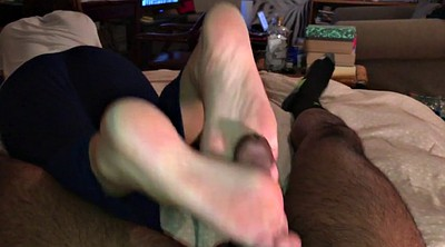 Footjob cumshot, Foot fetish