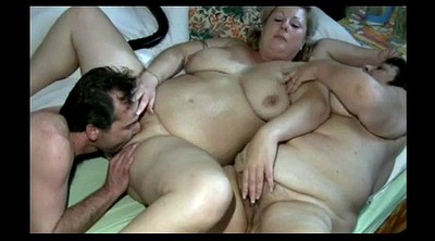 Mature threesome, Chubby mature, Hairy bbw