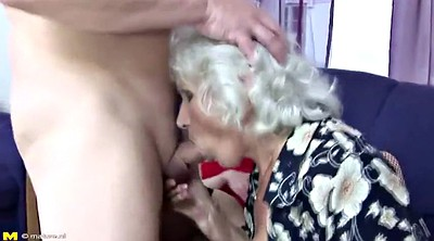 Pissing, Mature boy, Granny piss