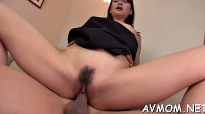 Japanese mature, Hairy mature