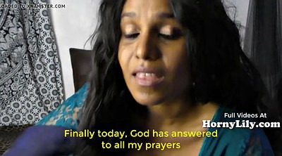 English, Indian housewife, English sub