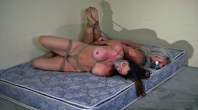 Two girls, Hogtied, Nudes, Hogtie