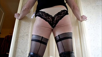 Boots, Stockings solo, Crossdressers