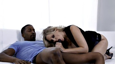 Julia ann, Julia, Interracial blowjob